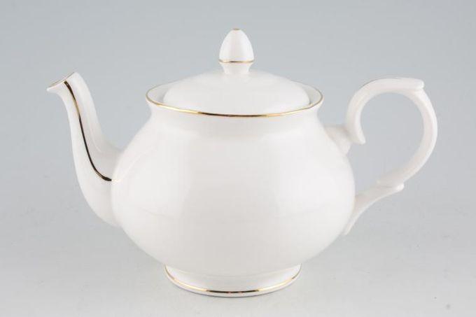 Duchess Gold Edge Teapot tapered knob lid handle 1 1/4pt