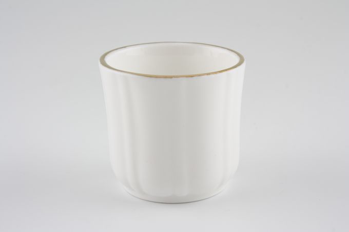 Duchess Gold Edge Egg Cup ribbed sides