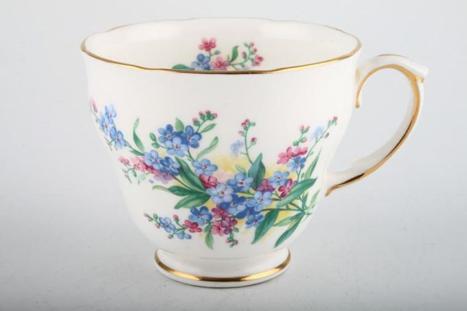 """Duchess Forget - Me - Not Teacup Without bird 3 1/2 x 2 7/8"""""""