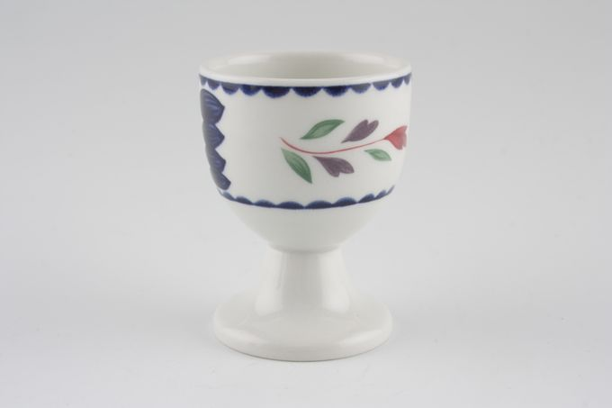 Adams Lancaster Egg Cup Footed/Wedgwood B/S