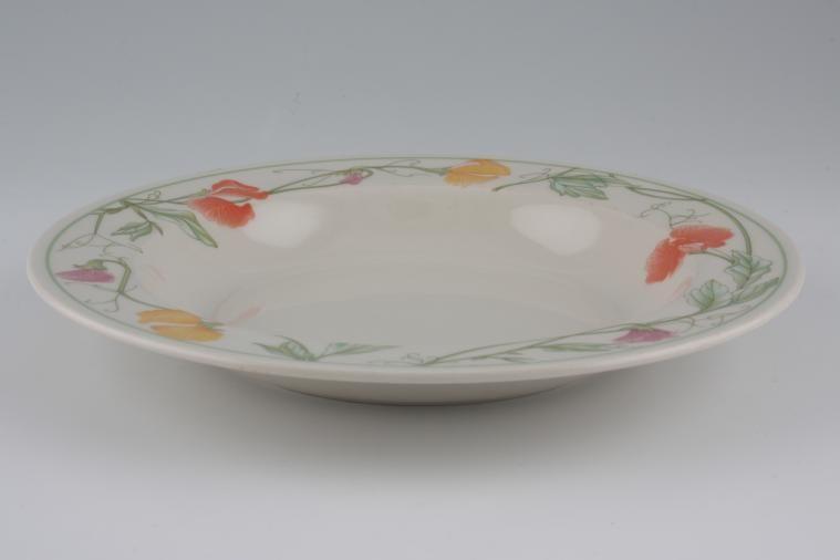 Adams - Summer Delight - Rimmed Bowl - Soup/dessert