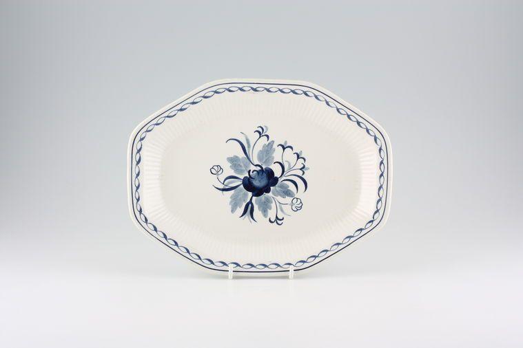 Adams - Baltic - Oblong Plate / Platter - elongated octagon shape