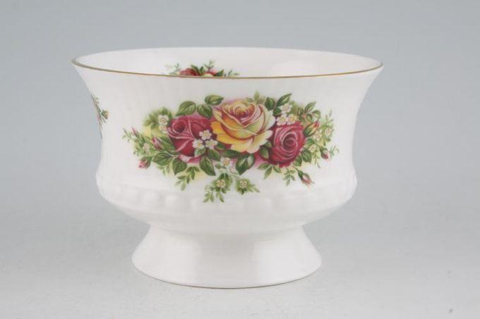 """Elizabethan Rose Garden Sugar Bowl - Open (Tea) 4 1/4"""""""