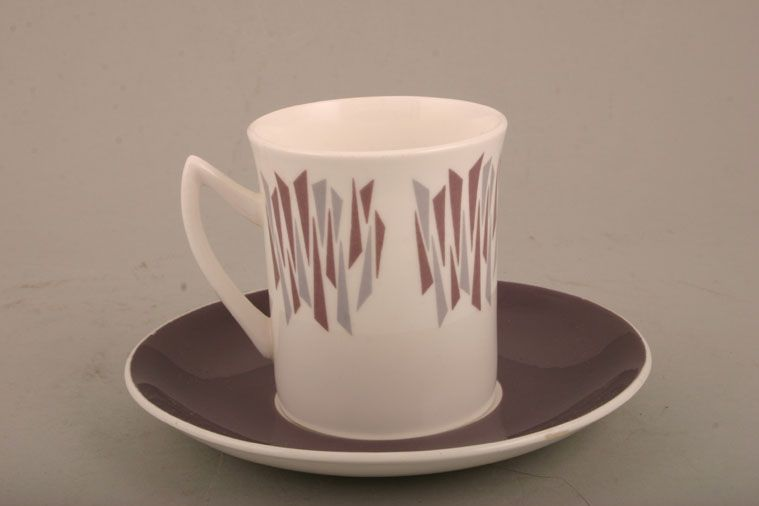Elizabethan - Kon Tiki - Coffee Saucer - Purple