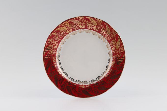 "Elizabethan Sovereign - Red Tea / Side / Bread & Butter Plate 6 1/2"""