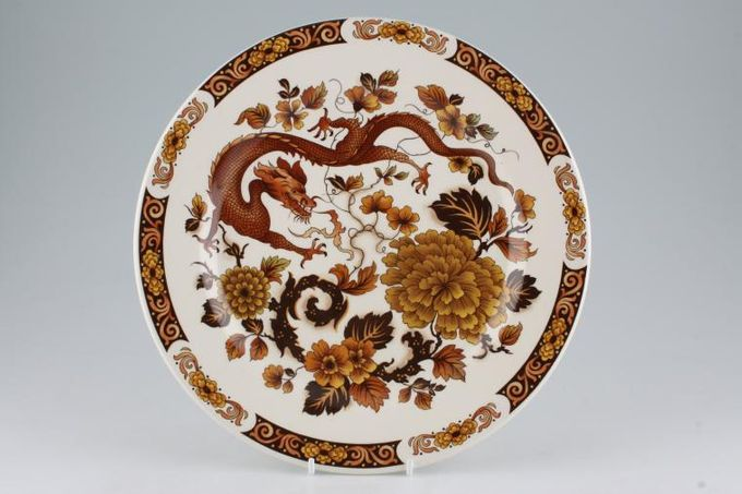 """Franciscan Dragon of Kowloon Dinner Plate 10"""""""