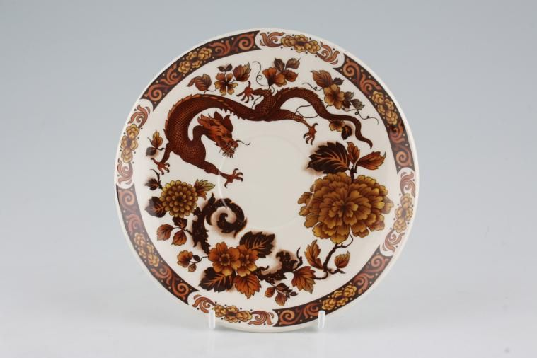 Franciscan - Dragon of Kowloon - Tea Saucer