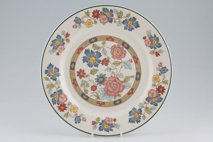 "Franciscan Orient Dinner Plate 10"""