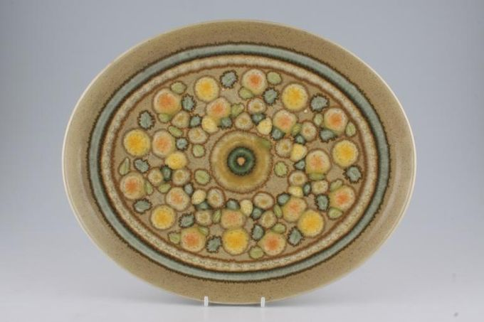 """Franciscan Reflections Oval Plate / Platter 13 1/4"""""""
