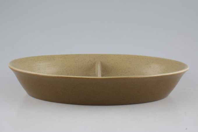 """Franciscan Reflections Vegetable Dish (Divided) 10 3/4"""""""