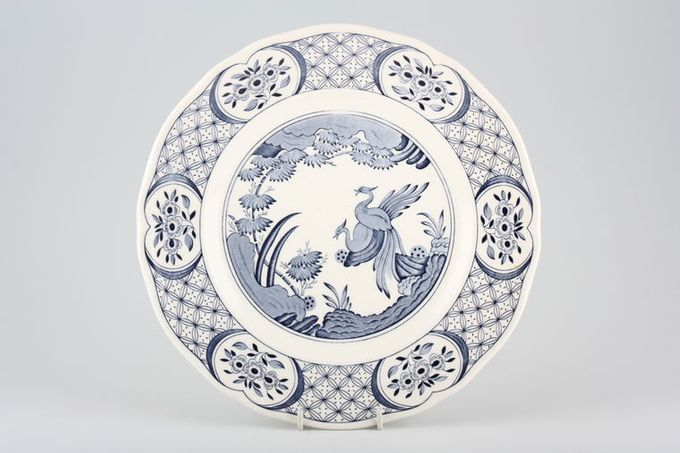 "Furnivals Old Chelsea - Blue Breakfast / Salad / Luncheon Plate 8 3/4"""