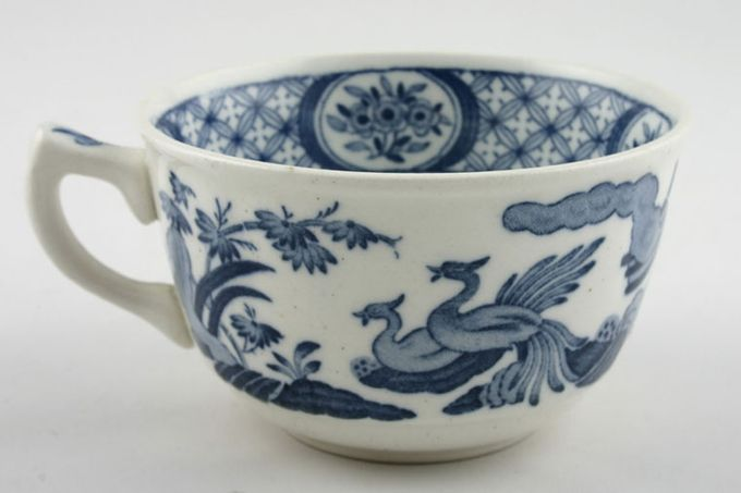 """Furnivals Old Chelsea - Blue Teacup flower pattern in bottom of cup 3 5/8 x 2 1/8"""""""