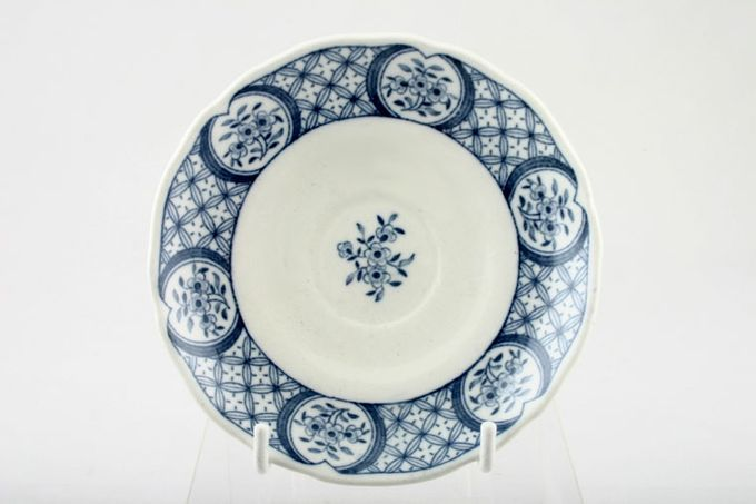 """Furnivals Old Chelsea - Blue Coffee Saucer 4 5/8"""""""