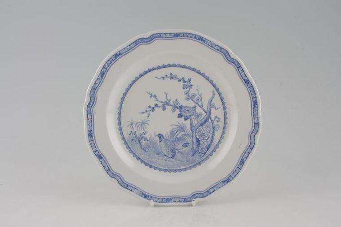 """Furnivals Quail - Blue Breakfast / Salad / Luncheon Plate 8 3/4"""""""