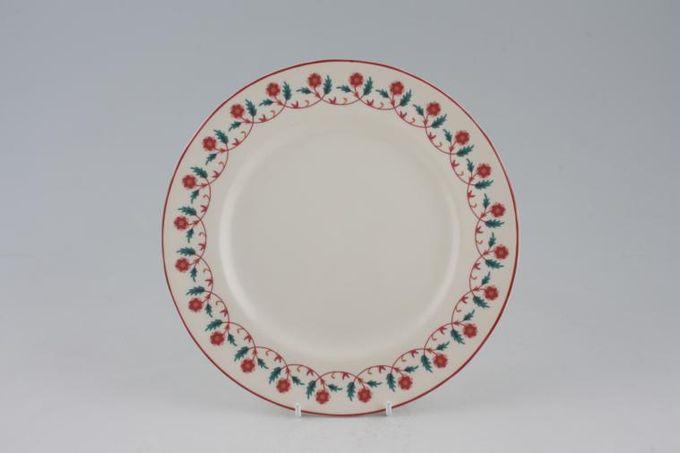 "Habitat Cinnibar Breakfast / Lunch Plate 8 3/4"""