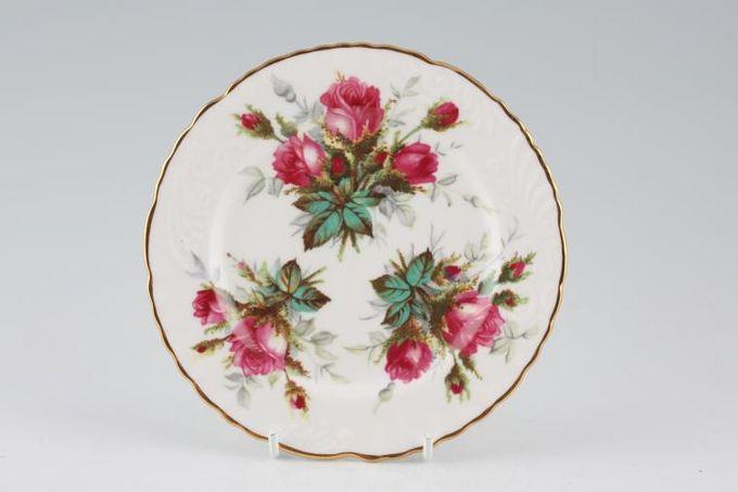 """Hammersley Grandmothers Rose Tea / Side Plate Embossed 6"""""""