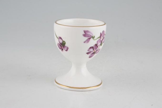 Hammersley Victorian Violets - Acorn over Crown Egg Cup Footed