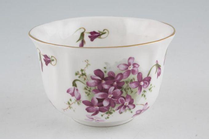 "Hammersley Victorian Violets - Acorn over Crown Sugar Bowl - Open (Tea) 4 1/4"""