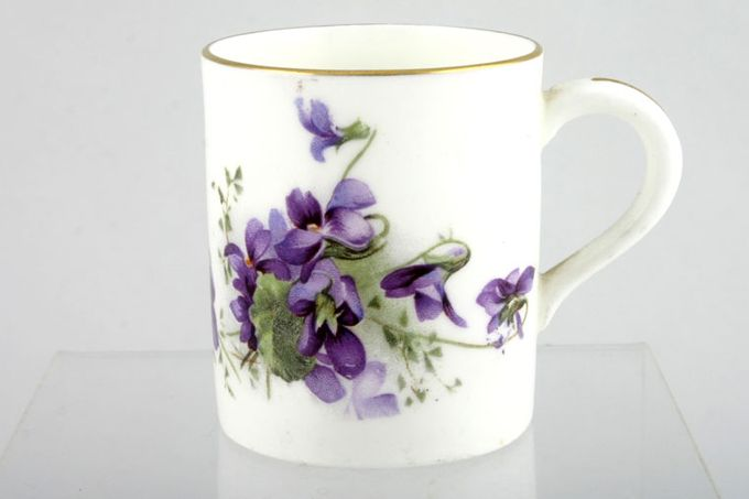 """Hammersley Victorian Violets - Crown Longton Coffee/Espresso Can 2 x 2 1/4"""""""