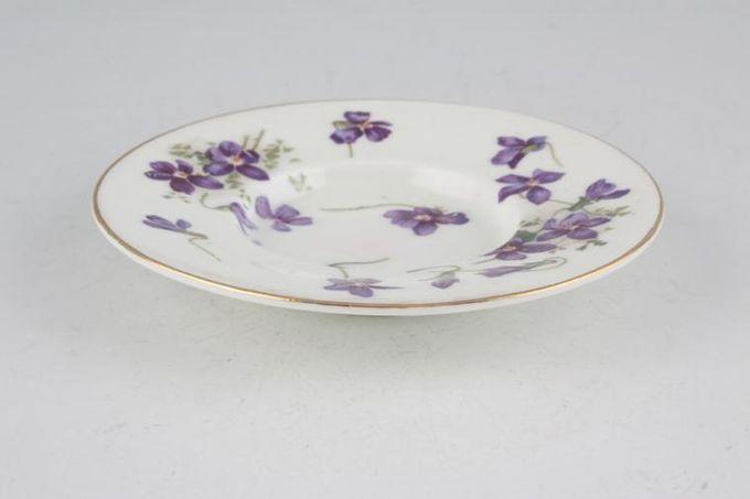 "Hammersley Victorian Violets - Crown Longton Coffee Saucer Deep well 4 1/4"""