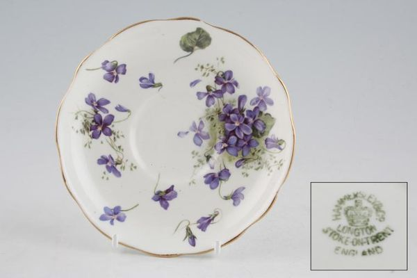 Hammersley Victorian Violets - Crown Longton