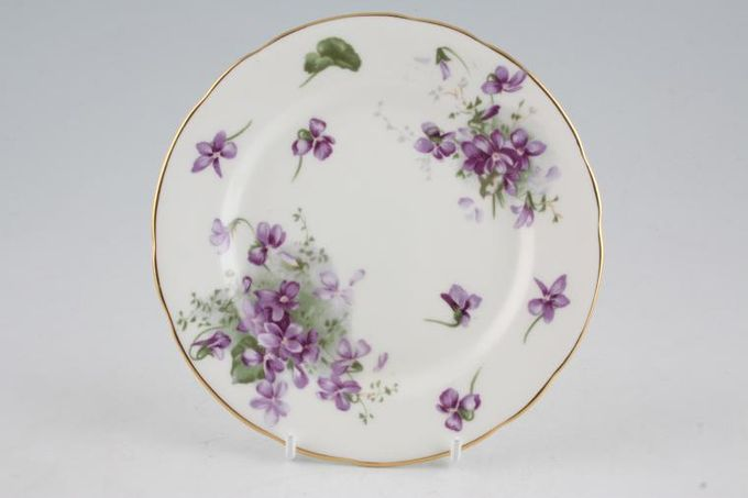 """Hammersley Victorian Violets - From Englands Countryside Tea / Side / Bread & Butter Plate 6"""""""