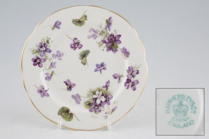 Hammersley Victorian Violets - Crown England