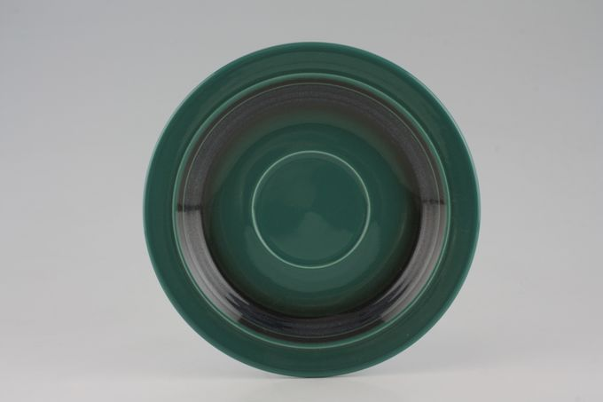 "Hornsea Duet Emerald Breakfast Saucer 7 1/8"""
