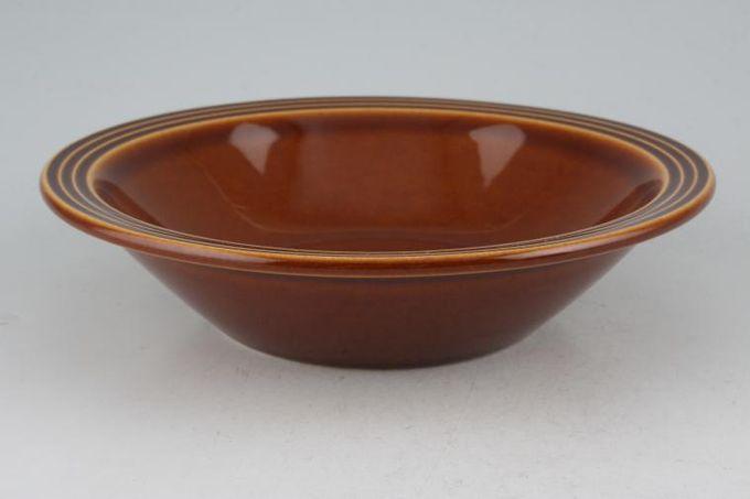 "Hornsea Heirloom - Brown Soup / Cereal Bowl 6 3/4"""