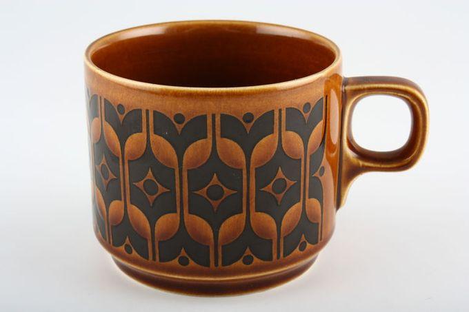 """Hornsea Heirloom - Brown Teacup 3 x 2 5/8"""""""