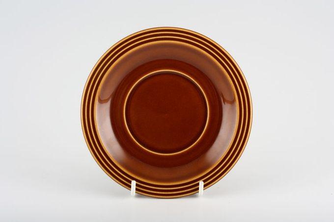 """Hornsea Heirloom - Brown Tea Saucer 5 7/8"""""""