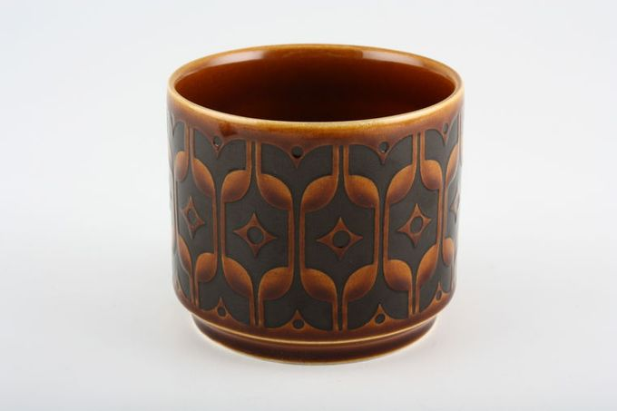 "Hornsea Heirloom - Brown Sugar Bowl - Open (Tea) 3 1/8 x 2 5/8"""