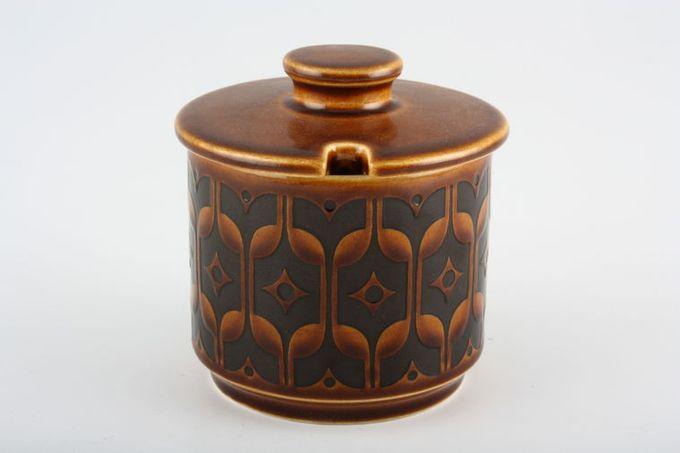 """Hornsea Heirloom - Brown Sugar Bowl - Lidded (Tea) 3 1/8 x 2 5/8"""""""