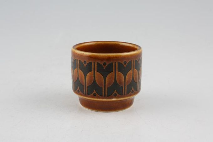 "Hornsea Heirloom - Brown Egg Cup 1 3/4 x 1 5/8"""
