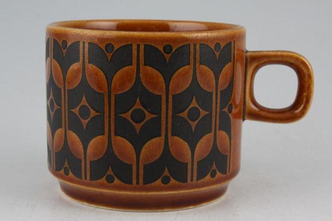 """Hornsea Heirloom - Brown Teacup Handle Variation 3 x 2 5/8"""""""