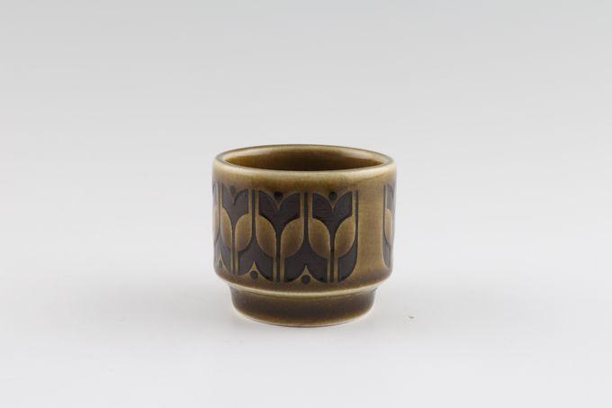 "Hornsea Heirloom - Green Egg Cup 1 7/8 x 1 5/8"""
