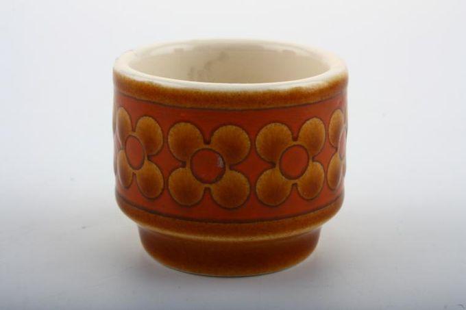 """Hornsea Saffron Egg Cup Also mustard pot base 1 3/4 x 1 5/8"""""""