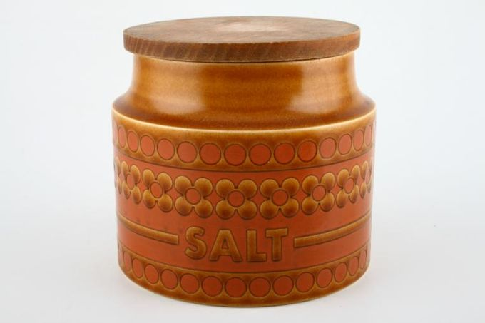 "Hornsea Saffron Storage Jar + Lid Size represents height. Salt 4"""