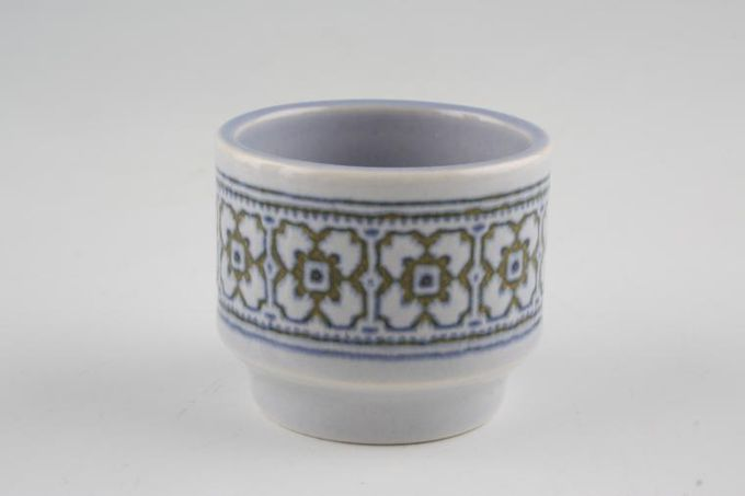 """Hornsea Tapestry Egg Cup 1 3/4 x 1 5/8"""""""