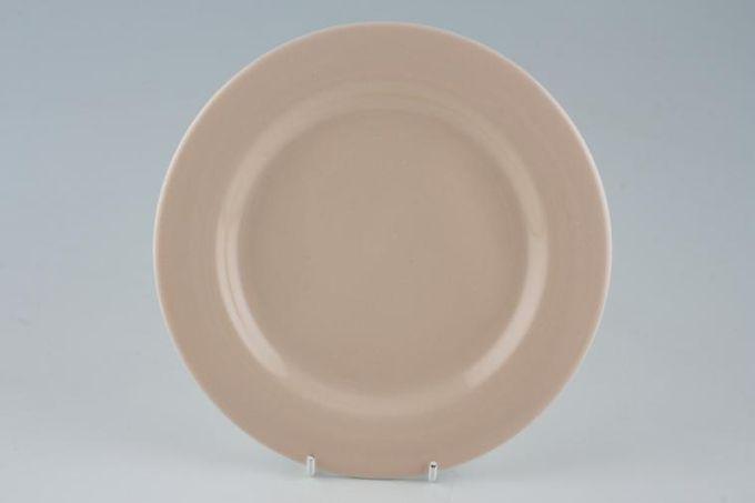 "Hornsea Corinth Peach Starter / Salad / Dessert Plate Tangerine 8"""