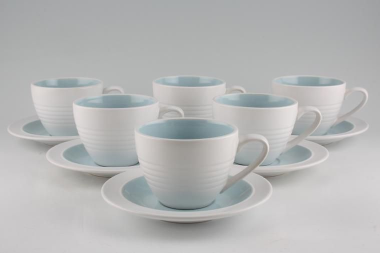 Teacups And Saucers Set Of 6 1 In Stock To Buy