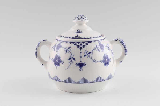Johnson Brothers Denmark - Blue Sugar Bowl - Lidded (Tea)
