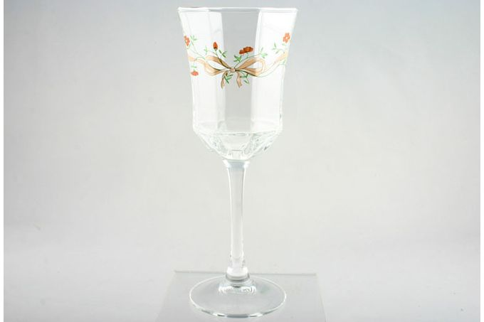 Johnson Brothers Eternal Beau Medium Wine Glass Tall 2 3/4 x 7""