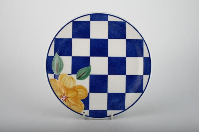 """Johnson Brothers Hopscotch - Blue Breakfast / Salad / Luncheon Plate 8 5/8"""""""
