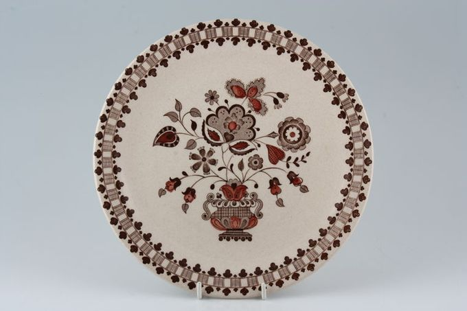 Johnson Brothers Jamestown - Brown - Old Granite Breakfast / Salad / Luncheon Plate 8 3/4""