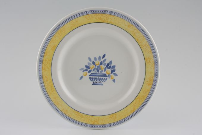 Johnson Brothers Jardiniere - Yellow Starter / Salad / Dessert Plate 7 7/8""