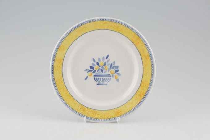 """Johnson Brothers Jardiniere - Yellow Tea / Side / Bread & Butter Plate 6 7/8"""""""