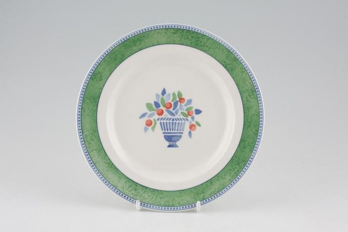 Johnson Brothers Jardiniere - Green Tea / Side / Bread & Butter Plate 7""