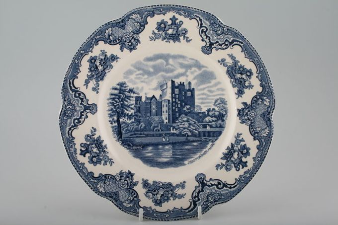 Johnson Brothers Old Britain Castles - Blue Dinner Plate Blarney Castle 10""