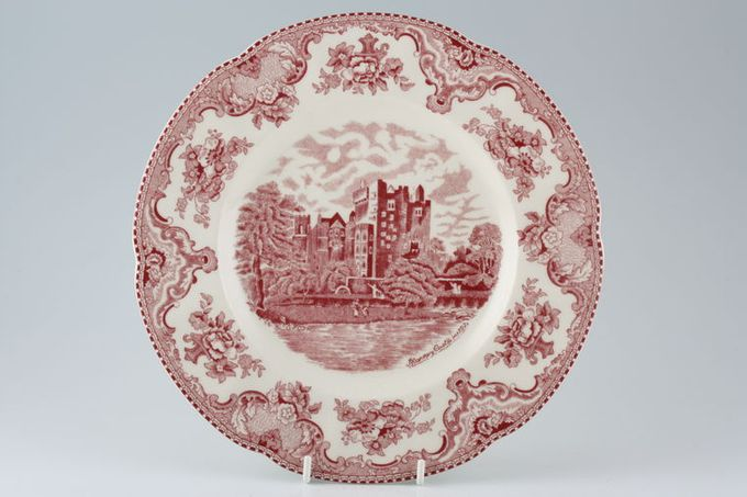 """Johnson Brothers Old Britain Castles - Pink Dinner Plate 10"""""""